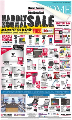 Offers from Harvey Norman in the Singapore leaflet