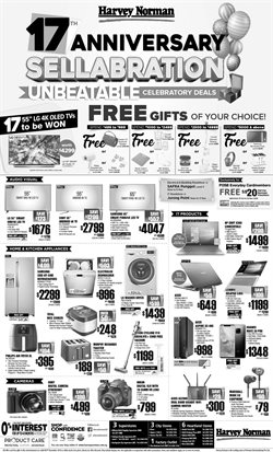 Home & Furniture offers in the Harvey Norman catalogue in Singapore