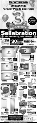 Harvey Norman catalogue ( Published today)