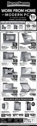 Home & Furniture offers in the Harvey Norman catalogue in Singapore ( Expires tomorrow )