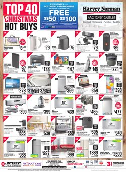 Home & Furniture offers in the Harvey Norman catalogue in Singapore ( 1 day ago )