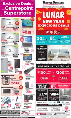 Harvey Norman catalogue in Singapore ( Expired )