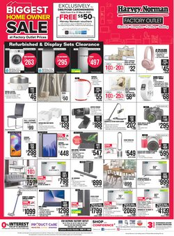 Harvey Norman catalogue ( 4 days left )