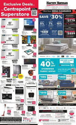Home & Furniture offers in the Harvey Norman catalogue ( 2 days left)