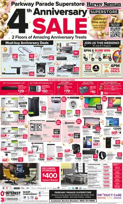 Home & Furniture offers in the Harvey Norman catalogue ( Expires Today)