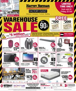 Harvey Norman offers in the Harvey Norman catalogue ( 4 days left)