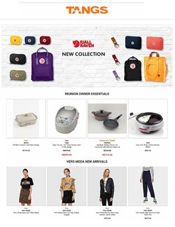 Department Stores offers in the Tangs catalogue in Singapore