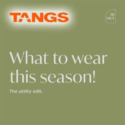 Tangs catalogue in Singapore ( More than a month )