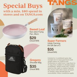 Department Stores offers in the Tangs catalogue ( 1 day ago)