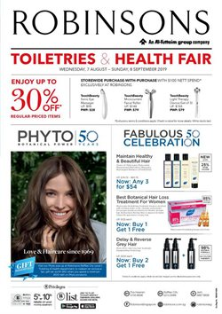 Offers from Robinsons in the Singapore leaflet