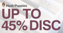 Offers from Hush Puppies in the Singapore leaflet