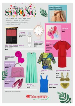 Takashimaya catalogue ( Expires Today )
