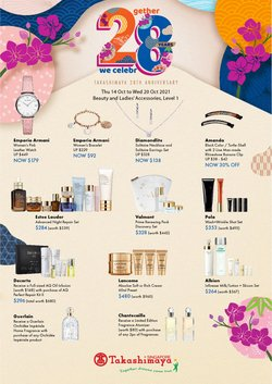 Home & Furniture offers in the Takashimaya catalogue ( 2 days left)