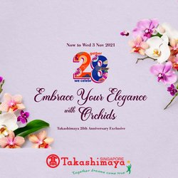Home & Furniture offers in the Takashimaya catalogue ( 6 days left)