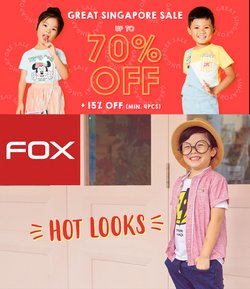 Clothes, shoes & accessories offers in the FOX catalogue ( 3 days left)