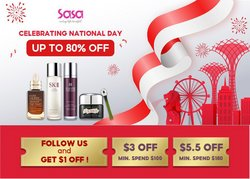 Beauty & Health offers in the Sasa catalogue ( Published today)
