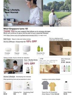 MUJI catalogue in Singapore ( 3 days left )
