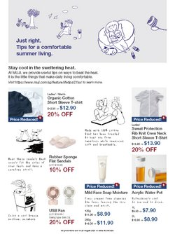 MUJI offers in the MUJI catalogue ( Expires Today)