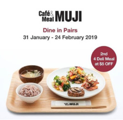 Offers from MUJI in the Singapore leaflet