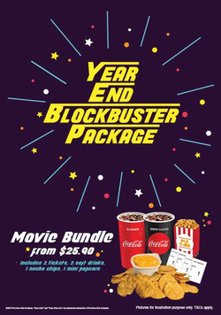 Offers from Cathay Cineplexes in the Singapore leaflet