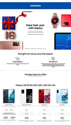 Samsung Store catalogue ( Expired )