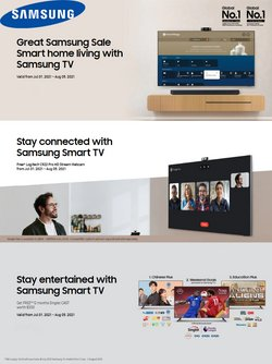 Electronics & Appliances offers in the Samsung Store catalogue ( Expires tomorrow)