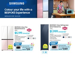Electronics & Appliances offers in the Samsung Store catalogue ( 29 days left)