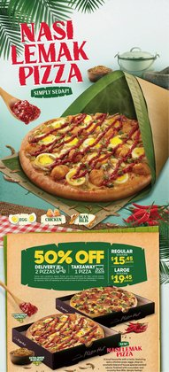 Restaurants offers in the Pizza Hut catalogue ( 3 days left)