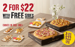 Offers from Pizza Hut in the Singapore leaflet