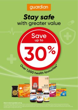Beauty & Health offers in the Guardian catalogue ( 16 days left)