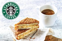 Offers from Starbucks in the Singapore leaflet