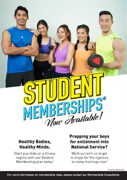 Sport offers in the True Fitness catalogue in Singapore ( 23 days left )