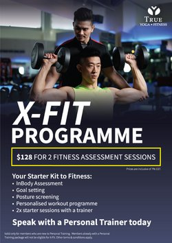 Sport offers in the True Fitness catalogue ( 3 days left)