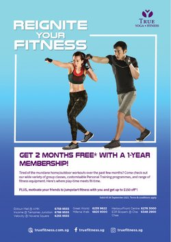 Sport offers in the True Fitness catalogue ( 10 days left)