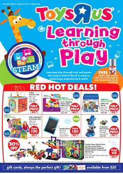 Kids, Toys & Babies offers in the Toys R Us catalogue in Singapore