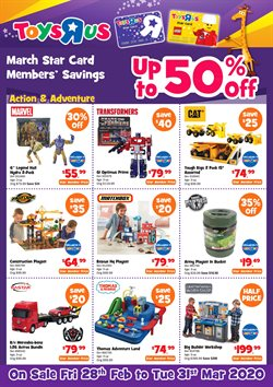 Toys R Us catalogue ( 1 day ago )