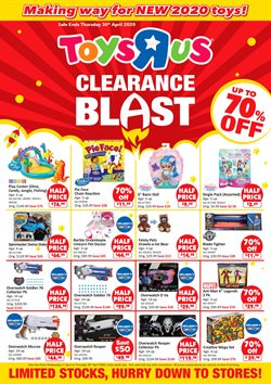 Kids, Toys & Babies offers in the Toys R Us catalogue in Singapore ( 1 day ago )