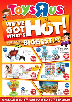 Kids, Toys & Babies offers in the Toys R Us catalogue ( 3 days left )