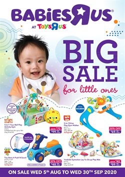 Kids, Toys & Babies offers in the Toys R Us catalogue in Singapore ( 6 days left )