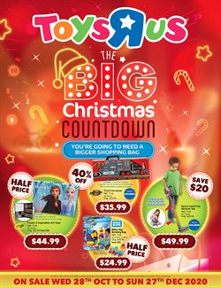 Toys R Us catalogue ( 23 days left )