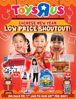 Toys R Us catalogue in Singapore ( Expired )
