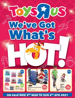 Kids, Toys & Babies offers in the Toys R Us catalogue in Singapore ( 27 days left )