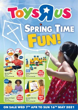 flower offers in the Toys R Us catalogue ( 29 days left)