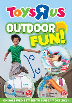 Kids, Toys & Babies offers in the Toys R Us catalogue ( 6 days left)