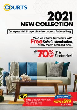 Home & Furniture offers in the Courts catalogue ( 7 days left )