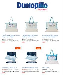 Dunlopillo catalogue ( Expired )