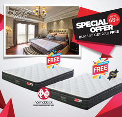 Offers from Dunlopillo in the Singapore leaflet