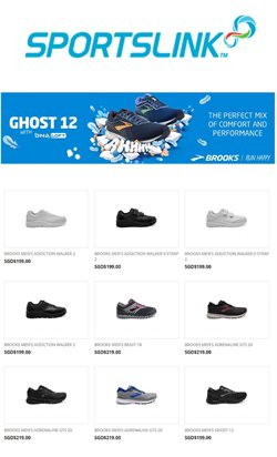 Offers from Sportslink in the Singapore leaflet