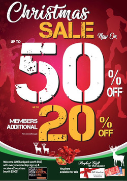 Offers from World of Sports in the Singapore leaflet