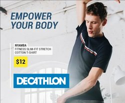 Sport offers in the Decathlon catalogue ( 2 days left)